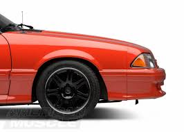 mustang 4 to 5 lug adapters fox 5 lug conversion process americanmuscle