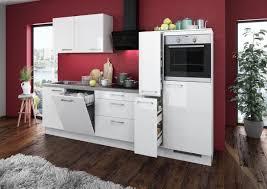 Kueche Kaufen Mit Elektrogeraeten Küchenblock Eco 280 Cm U0026 9654 Online Bei Poco Kaufen