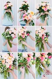 how to make wedding bouquet make this diy flower blocked bouquet paper and stitch