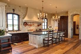 Rustic Kitchen Cabinets 30 Inventive Kitchens With Stone Walls