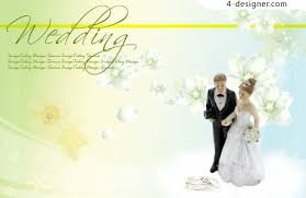 Wedding Wishing Cards 4 Designer Wedding Greeting Cards Psd Material