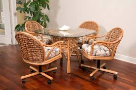 Rattan Kitchen Table by Dining Table Image Of Cork Rattan Kitchen Chairs Room Decorating