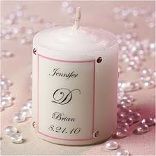 personalized candle favors wedding maniac wedding favors personalized candles