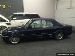 bmw e30 325i convertible for sale used 1991 bmw e30 3 series 82 94 325i convt for sale in