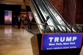 new york trump fined 10 000 for bench kiosks in trump tower lobby