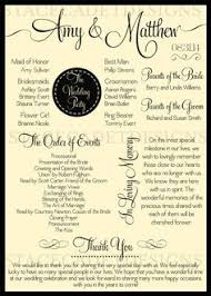 sles of wedding programs for ceremony planning a vow renewal for 25th anniversary help with program