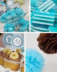 Blue Baby Shower Decorations Blue And Chocolate Brown Boy Baby Shower Decorations Foodies