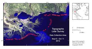 Maps Of Louisiana Louisiana Barrier Islands Map 99 Numbered With Louisiana Barrier