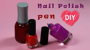 back to easy diy pen nail polish bottles cool craft idea