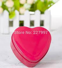 Heart Shaped Candy Boxes Wholesale Aliexpress Com Buy Wholesale 100 Pieces Heart Shape Mint Tin 7