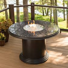 Firepit Dining Table by Outdoor Dining Tables With Gas Fire Pit Video And Photos
