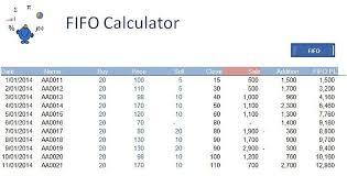 fifo calculator u2014 excel dashboards vba and more