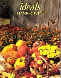 1994 thanksgiving ideals poems readings recipes apple dolls