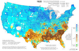 1860 Election Map by Presidential Election Of 1920 Map By Counties