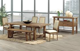 dining room tables bench seating rustic oak dining table with benches rustic dining table seats 10