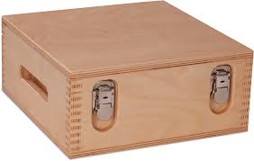 basic material wood tool boxes and presentation cases