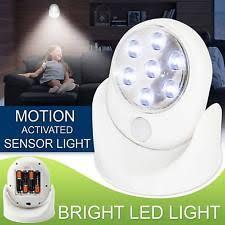 Battery Operated Motion Light Motion Sensor Light Ebay