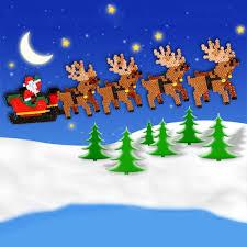 santa sleigh and reindeer 3d sleigh and reindeer perler