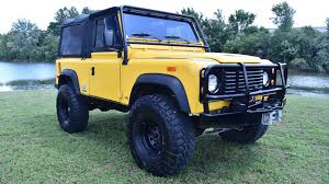 land rover defender lifted 1994 land rover defender 90 quick walkthrough cp14946t youtube