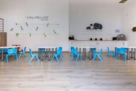 Picasso Laminate Flooring Private Nursary Maplewood Mist Inovar Floor