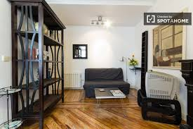 1 Bedroom Apartments For Rent Utilities Included by 1 Bedroom Apartment For Rent With Ac In Tribunal Madrid Spotahome