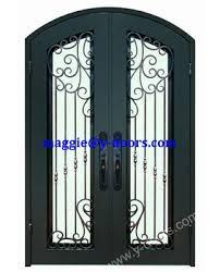 Main Door Flower Designs by Front Wrought Iron Double Door Design Steel Front Main Entry Door
