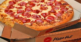 Barnes Pizza Pizza Hut 1 Large Pepperoni Pizza W Any Large Pizza At Menu