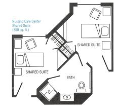 layout of nursing home nursing home hospital floor plans pinterest hospital design