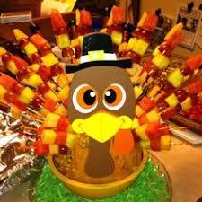 tom the turkey fruit kabobs thanksgiving fruit