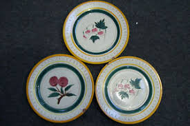 stangl pottery terra set of 3 vintage stangl pottery terra 2 garden flower one