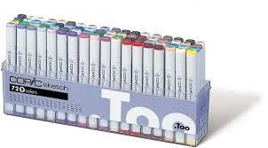 yotti u2014 sketch markers 72pc set set b best gift for designer