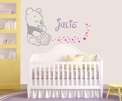 stickers chambre parentale stickers winnie bebe enfants et prenom