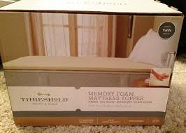 Home Design Mattress Pad Threshold Memory Foam Mattress Topper Mattress