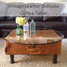 How To Make A Coffee Table by Attractive Suitcase Coffee Table With How To Make A Suitcase
