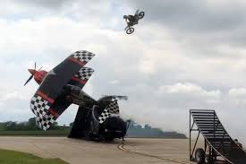 freestyle motocross videos fmx rider jump an airplane for the ultimate stunt video