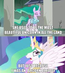 Princess Celestia Meme - 1520346 cfire tales edit edited screencap eyes closed image