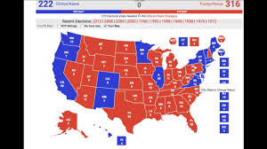 1980 Presidential Election Map by My 2016 Electoral Map Prediction Correct Prediction Youtube