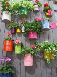 Idea For Garden Tin Can Garden Garden Gardening Garden Decor Small Garden Ideas