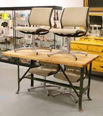 found in ithaca industrial butcher block work table industrial butcher block work table upholstered steelcase dining chairs