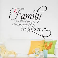 removable family love quote wall decor pvc sticker words decal does not apply
