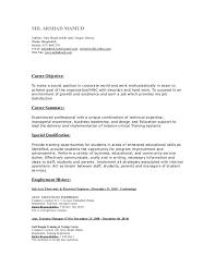 Un Resume Sample by Un Volunteer Cv