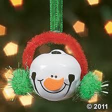 jingle bell snowman ornament december crafts jingle