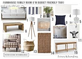 remodelaholic budget friendly modern farmhouse family room makeover