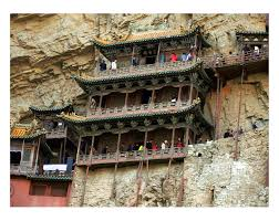 Hanging Pictures by Hanging Temple Of Hengshan U2013 Datong China Atlas Obscura
