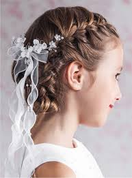 cute hairstyles for first communion stunning hairstyle for children gallery style and ideas