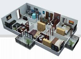 home design for 1500 sq ft 3d home plan 1500 sq ft designbyla