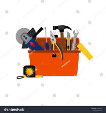 Diy Home Renovation by Toolbox Diy House Repair Home Renovation Stock Vector 297898694