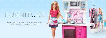 barbie furniture kitchen bedroom u0026 bathroom sets barbie
