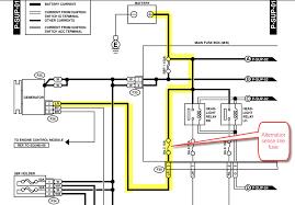 gen 2 h6 alternator wire assembly page 2 subaru outback