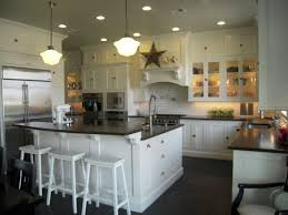 kitchen island with raised bar honed black granite countertops traditional kitchen hgtv